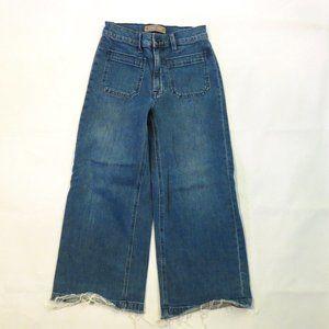 Point Sur J.Crew jeans 25 Wide leg crop High rise
